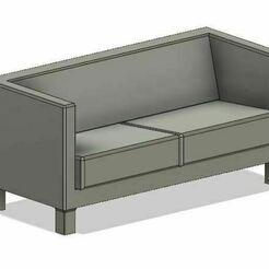 Work Sofa.JPG Télécharger fichier OBJ Canapé de modélisme ferroviaire • Objet pour impression 3D, PJD1974
