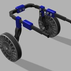 1.jpg Télécharger fichier STL Fauteuil roulant pour chien • Modèle pour imprimante 3D, Talavus