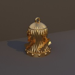 Mago.jpg Download STL file Christmas Bell DnD Class - Wizard • 3D printable model, dadosndrama