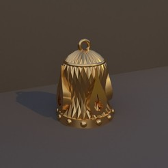 Hechicero.jpg Download STL file Christmas Bell DnD Class - Wizard • 3D printable model, dadosndrama