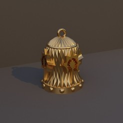 Clérigo.jpg Download STL file Christmas Bell DnD Class - Clergy • 3D printing template, dadosndrama