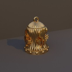 Druida.jpg Download STL file Christmas Bell DnD Class - Druid • 3D printing model, dadosndrama