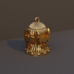 Paladin.jpg Download STL file Christmas Bell DnD Class - Paladin • 3D print object, dadosndrama