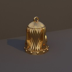 Bardo.jpg Download STL file Christmas Bell DnD Class - Bardo • 3D printer design, dadosndrama