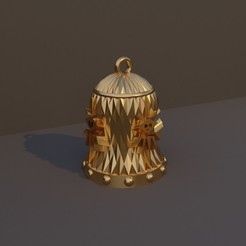 Brujo.jpg Download STL file Christmas Bell DnD Class - Warlock • 3D printer model, dadosndrama