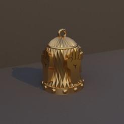 Monje.jpg Télécharger fichier STL Cloche de Noël classe DnD - Monk • Modèle pour imprimante 3D, dadosndrama