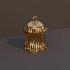 Pícaro.jpg Download STL file Christmas Bell DnD Class - Naughty • Template to 3D print, dadosndrama