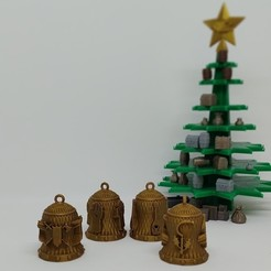01.jpg Download STL file Christmas Bell - DnD Class • 3D printer design, dadosndrama