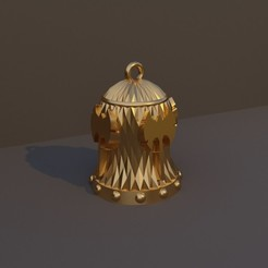 Barbaro.jpg Download STL file Christmas Bell DnD Class - Cool • 3D print object, dadosndrama