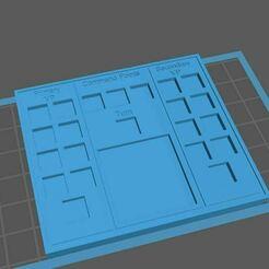 Game Tracker.JPG Download STL file 40k Game Tracker • 3D print design, TheArk3tekt
