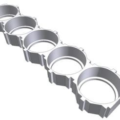 11.png Télécharger fichier STL 18650 Support modulaire à 5 cellules • Design pour impression 3D, kretschmer