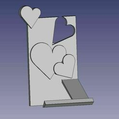 porte-portable-coeur.JPG Download STL file smartphone docking station • 3D printable object, eldio12