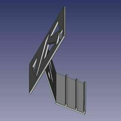 porte-portable.JPG Télécharger fichier STL porte portable smartphone • Design pour impression 3D, eldio12