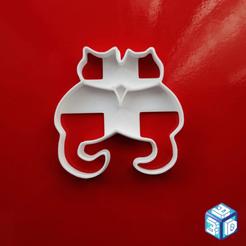 Gattini.png Télécharger fichier STL Paires d'emporte-pièces pour chats • Modèle pour impression 3D, 3designer