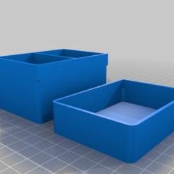 diabox_geteilt.png Télécharger fichier STL gratuit Boîte à diapositives demi • Modèle pour imprimante 3D, vitaly12