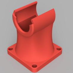 Luefter_Fan_E3D_V6_40mm.png Download free STL file E3D V6 Fan Duct for 40mm Fan • Object to 3D print, vitaly12