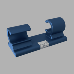 Cable_Clip_GLUE.png Download free STL file Simple Cable Clip • 3D print design, vitaly12