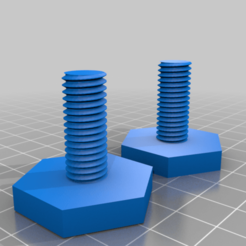 2wEiEPVbEwd.png Download free STL file Adjustable foot Bolt M10 • Template to 3D print, vitaly12