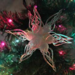elvin christmas star_small.png Télécharger fichier STL Elvin / Ornement de Noël de l'étoile celtique / Boule de Noël • Objet pour impression 3D, AdrianW