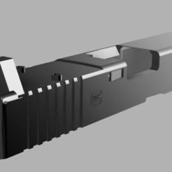 gen 5 3.png Download STL file Airsoft RMR Cut Slide for G17 Gen 5 • 3D printing design, RatnikDesigns