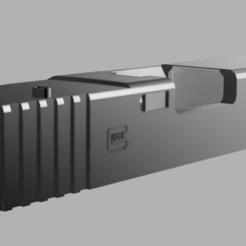 gen 4 3.png Download STL file Airsoft RMR Cut Slide for G17 Gen 4 • 3D printer design, RatnikDesigns