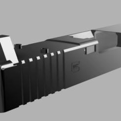 gen 3 3.png Download STL file Airsoft RMR Cut Slide for G17 Gen 3 • 3D print design, RatnikDesigns