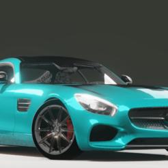 Photo 1.png Download STL file Mercedes Benz AMG GT • 3D printer template, yan_carvalho