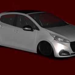 base.png Download STL file Peugeot 208 - 5 Doors (.Z3D) • 3D printer object, kolkesstore