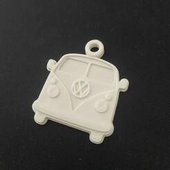 IMG_8078.jpg Download free STL file VW Transporter Keychain • 3D printing object, Garage3dmaker