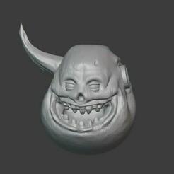 Head.jpg Download free STL file Nurgle charecter head • 3D printing template, hamsterzavr