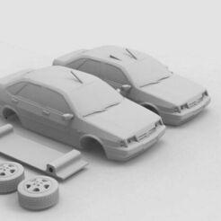 fiat-tempra-printable-3d-model-3d-model-obj-fbx-stl (1).jpg Télécharger fichier OBJ FIAT TEMPRA MODÈLE 3D PRINTABLE Modèle d'impression 3D • Plan pour impression 3D, sahinozturkk