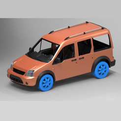 11.png Download STL file FORD CONNECT 3D PRINT MODEL 3D print model • 3D print object, sahinozturkk