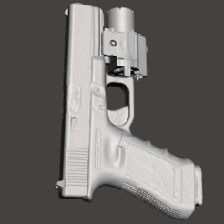 Glock 17 tlr 4.png Download STL file Glock 17 with TLR- 4- Dimensionally accurate • 3D printable design, ciscokid