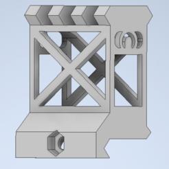 Skeletonriser main part.PNG Download STL file Skeleton picatinny rail riser  • 3D printable template, oliverhviid