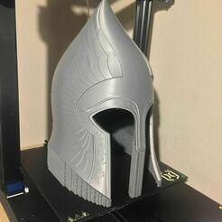 139269601_419337759405456_2070310025637385317_n.jpg Télécharger fichier STL Casque infanterie Gondor - LOTR • Objet imprimable en 3D, solidworks_blade
