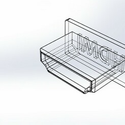 hdmi.JPG Download free STL file HDMI protection • 3D printing object, memo1402