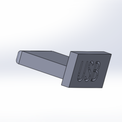 usb.PNG Download free STL file usb protection • 3D printing object, memo1402