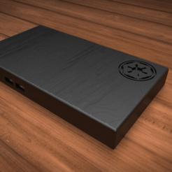 image.png Télécharger fichier STL gratuit Lingot du Beskar : le cas zéro du RPI • Plan à imprimer en 3D, DarkUp