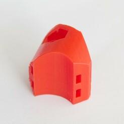 actioncam_ziptiemount_1.jpg Download STL file Actioncam Ziptie Mount for 22mm Handlebar • 3D printable template, Papiertier