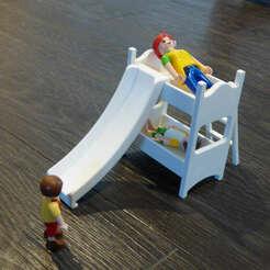 P1080367.JPG Download STL file Playmobil child bunk bed • 3D print model, MLC3D