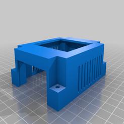 Trigorilla_Mosfet_Case_Top.png Télécharger fichier STL gratuit Affaire Trigorilla Mosfet • Design pour imprimante 3D, paulorfo