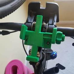 20200322_142603.jpg Download free 3MF file Phone Bike Mount • 3D print model, paulorfo