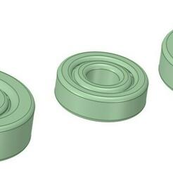Cojinetes deslizantes v3.jpg Download STL file Slide bearings for print assembly (Print in place) • 3D print template, jwulau
