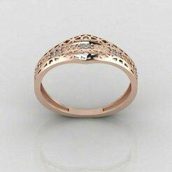 r1052p1.jpg Download STL file Women ring 3dm stl render detail 3D print model • 3D printing object, tuttodesign
