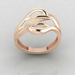 r1176p1.jpg Download STL file Women ring 3dm stl render detail 3D print model • 3D printing object, tuttodesign