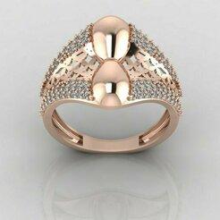 r1193p1.jpg Download STL file Women ring 3dm stl render detail 3D print model • 3D printing object, tuttodesign