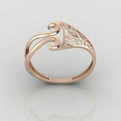 r1156p1.jpg Download STL file Women ring 3dm stl render detail 3D print model • 3D printing object, tuttodesign