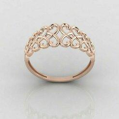 r1163p1.jpg Download STL file Women ring 3dm stl render detail 3D print model • 3D printing object, tuttodesign