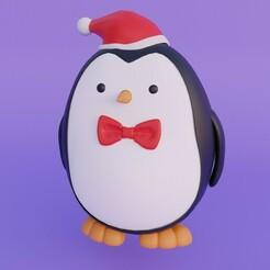 Pinguin 1.jpg Download free STL file Penguin • 3D printer design, MATB