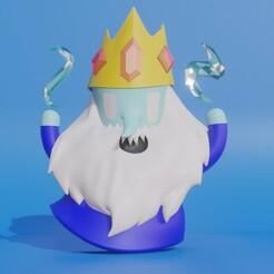 untitled.jpg Télécharger fichier STL Le temps de l'aventure - Le roi de la crème glacée • Plan pour impression 3D, MATB